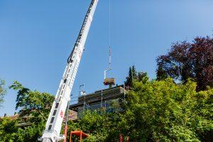 KLS Kran- und Arbeitsbühnenlogistik Sindelfingen - Dachsanierung