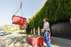 KLS Kran- und Arbeitsbühnenlogistik Sindelfingen - Holzlieferung